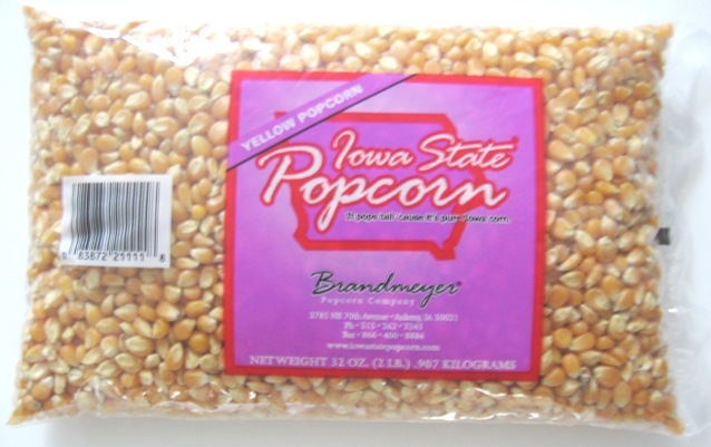 Iowa State 2 lb Yellow Popcorn