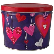 Heartstrings Popcorn Tin